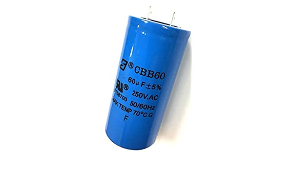 Amazon.com: Rolair Air Compressor Start Power Capacitor FC009200075 OEM Replacement New: Home Improvement