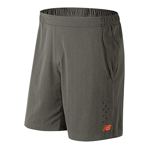 New Balance Men's Tournament Shorts, Military Foliage Green, XX-Large/9