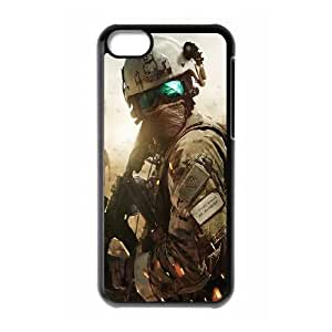 iPhone 5c Cell Phone Case Black Extraction War Otpqe
