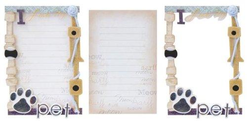 Karen Foster Design My Pet Stacked Journaling, 2ピース B00409N7A2