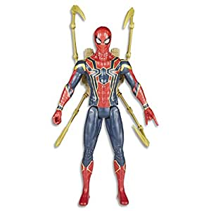 AVENGERS Titan Hero Power FX Spider Man Action Figure, 7 Pieces