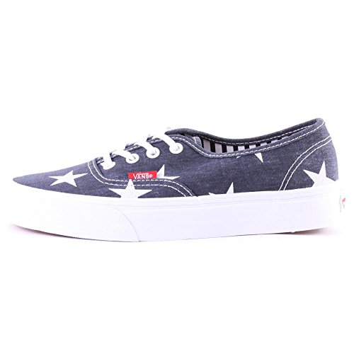 Vans K Authentic, Zapatillas Niño Azul (Stars And Stripes/True White)