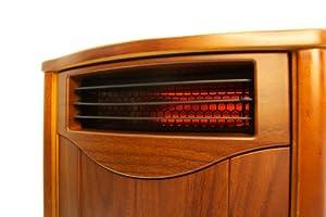 Tuscan Walnut Comfort Furnace Infrared Heater UV