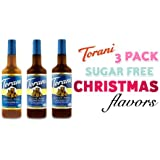 Torani 3 Pack Sugar Free Christmas Flavors