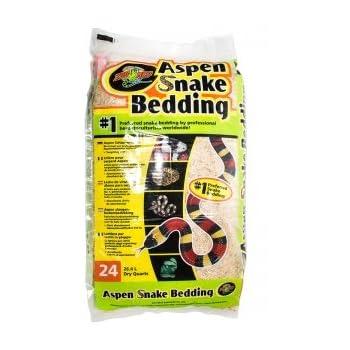 Amazon Com Zilla Snake And Lizard Litter Aspen 8 Qt