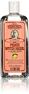 Thayers Peach Witch Hazel Astringent with Aloe Vera - 12 oz.