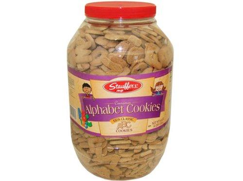 UPC 072320118185, Cinnamon Alphabet Cookies, 4 lb tub