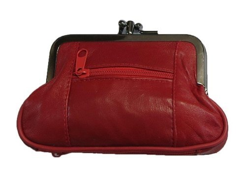 Leather Change Purse RD (Snap Coin)
