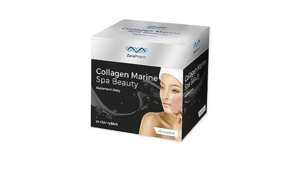Collagen Marine Spa Beauty/colágeno pescado/menos arrugas, tez hermosa/ 30 bolsitas para beber: Amazon.es: Salud y cuidado personal
