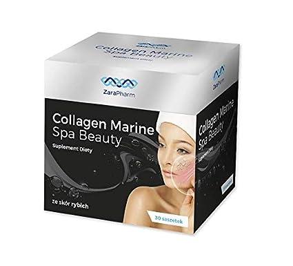 Collagen Marine Spa Beauty/colágeno pescado/menos arrugas, tez hermosa/ 30 bolsitas