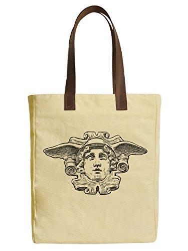 vietsbay Juego de lona impresa bolsa Bolsas & piel asas Estatua Romana fue _ _ _ _ _ _ _ _ _ _ 30,  Head of Hermes