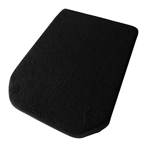 (USA Seamstress Fleece Center Console Cover for Nissan Frontier Trucks 05'-14' (Black))