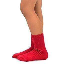 Naartjie Kids Boy\'s Cotton Bright Stripes & Solids Crew Socks 6 Pack (6-8Y)