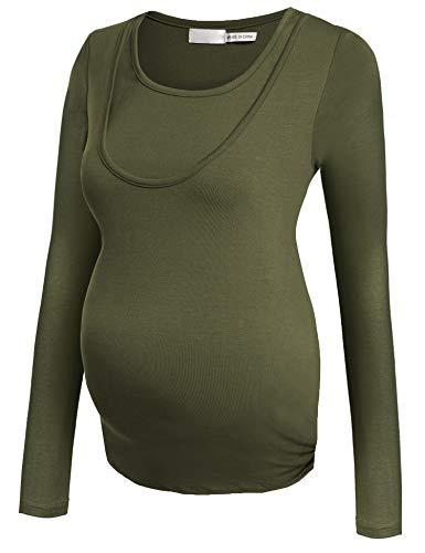 Unibelle per Maglia Allattamento Premaman Donna Maglieria maternit rrqX4w