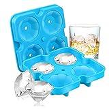 Ice Cube Trays, SAWNZC Diamond-Shaped Fun Ice Cube Molds BPA Silicone...