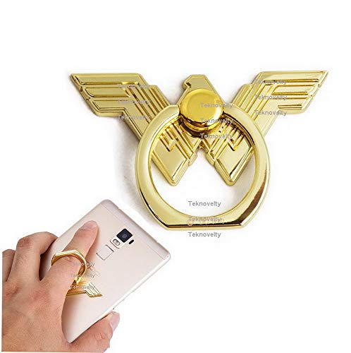 FidgetKute Justice League Wonder Woman Finger Ring Buckle Holder Stand Mount for Cell Phone