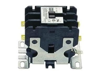 Cutler Hammer Eaton C25DND225T Definite Purpose Contactor, 25A, 2-Poles, 24V