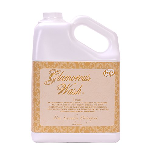 ICON Fragrance Glamorous Wash 128 oz (Gallon) Fine Laundry Detergent by Tyler Candles (Glamorous Fragrance)