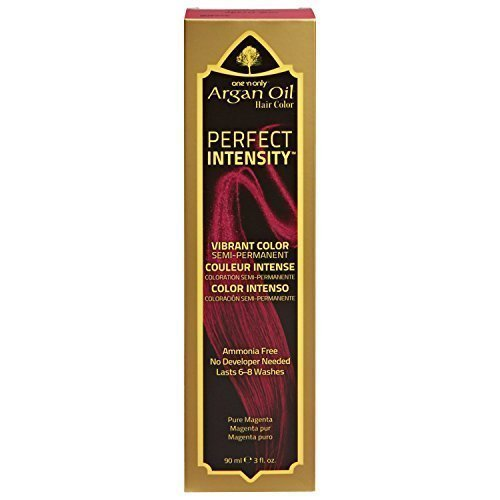 - One 'n Only Perfect Intensity Pure Magenta Semi Permanent Hair Color Pure Magenta