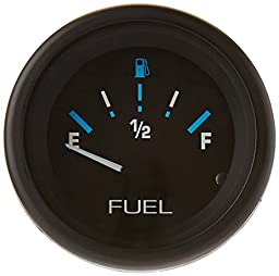 Sierra International 68390P E-F Dial Range Scratch Resistant Domed Glass Lens Eclipse Fuel Gauge, 2\