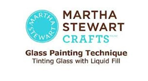 Martha Stewart Crafts Gloss Opaque Glass Paint in Assorted...