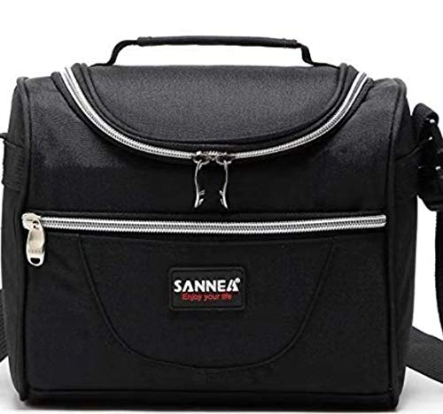 SANNE Large Lunch bag / Insulated Lunch Box / Cooler Bag  for Adult Women Men Work School Picnic Kids Girls Boys