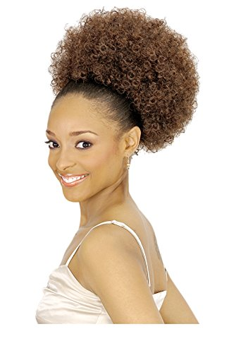 Afro Puff - New Born Free D.S. Effy Afro Puff - #0271 (1B - Off Black)