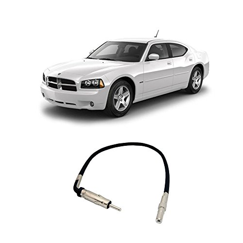 Compatible with Dodge Charger 2005-2007 Factory Stereo to Aftermarket Radio Antenna Adapter Plug