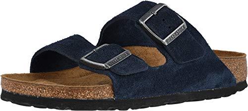Birkenstock Men's Arizona Soft Footbed Sandal Night Suede Size 45 M EU