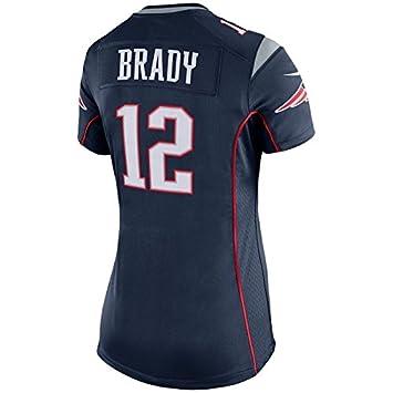 aef7cef2 Nike Women's New England Patriots Tom Brady Game Team Jersey Navy Blue Home