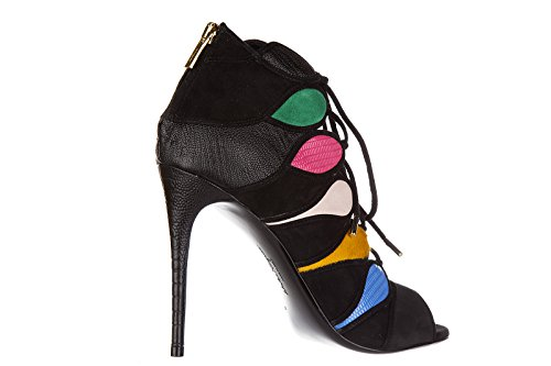 Salvatore Ferragamo sandales femme à talon en cuir felicity noir EU 36 01L472 644757