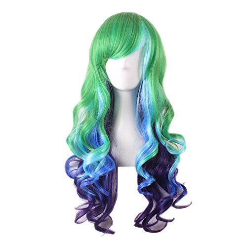 [TINYUNICORN Women Short Full Hair Wig for Women Kanekalon Natural Hair Wigs] (Annie Costumes For Kids)