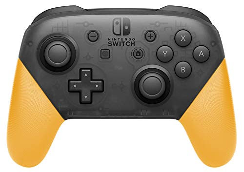 Anti-Slip Grip Shell for Switch Pro Controller, DIY Delicate and Textured Replacement Grip Handles Cover Shell for Nintendo Switch Pro Controller(Yellow)