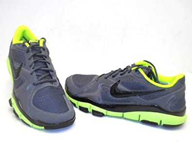 1c72b8dbe0fc ... coupon code amazon nike free tr2 dark grey volt mens training shoes  trainer 442031 007 running