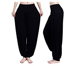 CA Apparelsales Womens Yoga Pants Harem Trousers Loose Pants