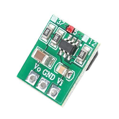 3パック昇圧モジュールミニ調整可能昇圧回路基板DC / DCパワーコンバータ電圧レギュレータ電源モジュール(5V)