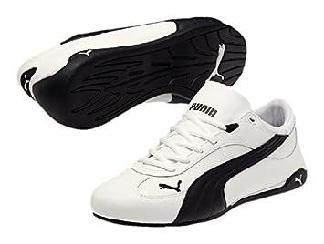 stile di moda del 2019 dove comprare up-to-date styling Puma Fast Cat LEA - white-black: Amazon.de: Sport & Freizeit
