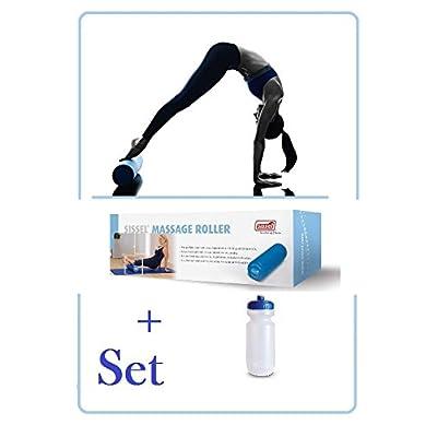 Sissel Rouleau de massage–(45cm) avec gourde en kit pour débutants et * * Nouveau * *