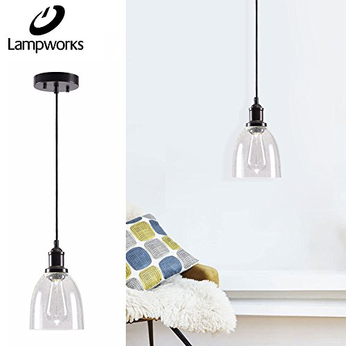 Oval Shaped Pendant Light