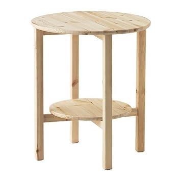 Ikea Nornäs Beistelltisch Aus Massiver Kiefer 52cm Amazonde