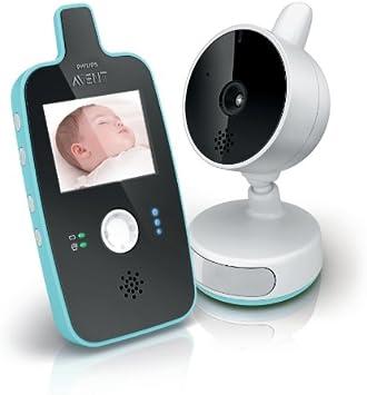 Vigilabeb/é Philips AVENT Audio Monitors Vigilabeb/és con tecnolog/ía DECT, 120 canales, 300 m, 50 m, 300 m, Blanco