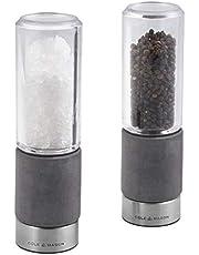 "Cole & Mason Regent Salt & Pepper Mill Gift Set, 7"", Gray"