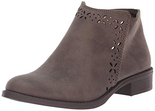 Nine West Girls' LAILI Ankle Boot, Taupe, M040 M US Little Kid