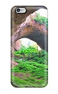 High-quality Durable Protection Case For Iphone 6 Plus(caves And Grasses)
