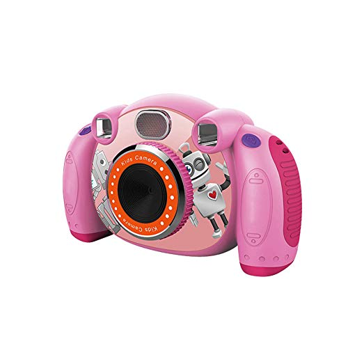 (LARDOO Mini Digital Camera for Kids 2 Inch 1080P Cartoon Cute Camera Toys Children Birthday Gift for Funny Automatic Toddler)
