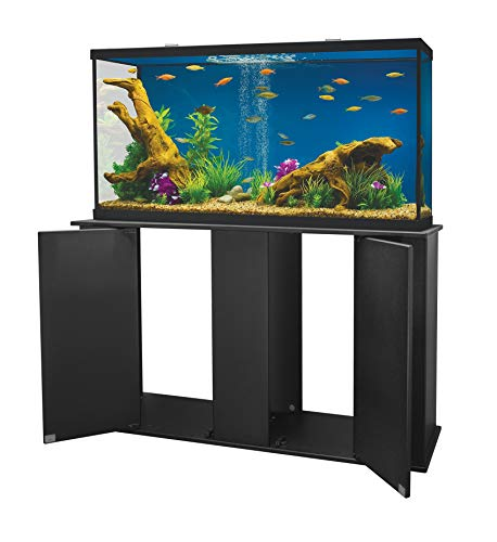 Aquatic Fundamentals 16551 55 Gallon Upright Aquarium Stand Black