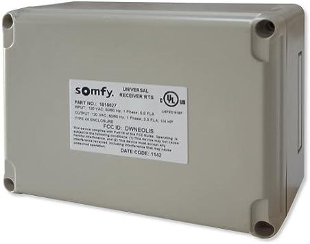 Synchronization Control Rts Radio Receiver Somfy