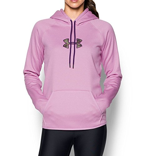 Under Armour Women's Icon Caliber Hoodie, Icelandic Rose (924), Large ()