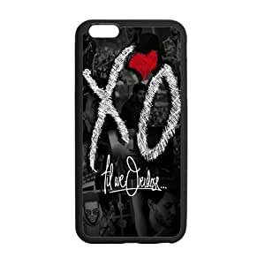 LeonardCustom XO The Weeknd Protective Hard Rubber Coated Phone Case Cover for iPhone 6 Plus 5.5 inch -LCI6PU730