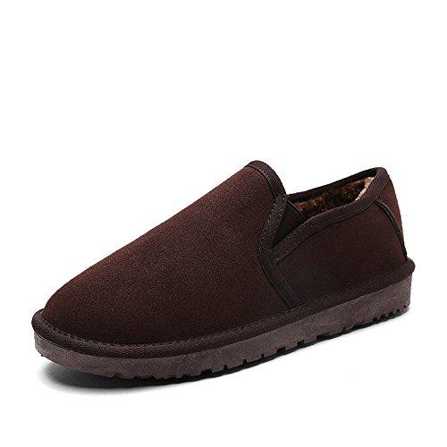 inverno di di Boots trend A slittamento scarpe British velluto plus cotone caldo Snow di 1AdwxFqY